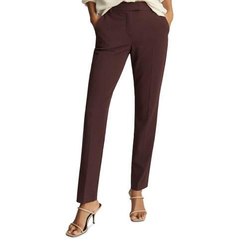 Reiss Red Joanne Slim Leg Trousers