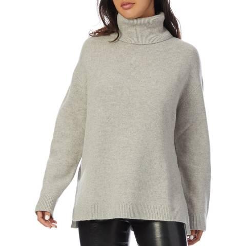 Reiss Grey Cleopatra Wool Blend Jumper