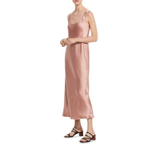 Vince Blush Square Neck Dress