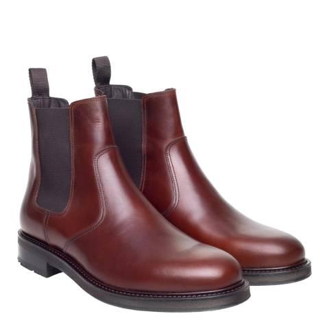 John White Chisham Brown Chelsea Boot