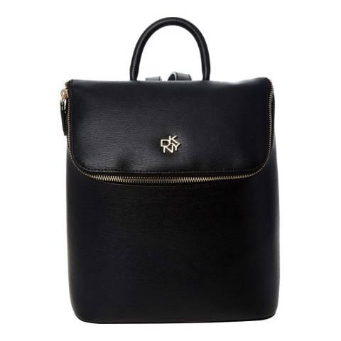 DKNY Black Catherine Backpack