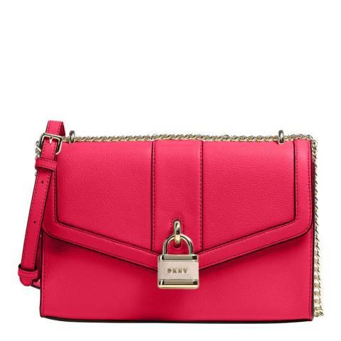 DKNY Bright Rose Ella Large Shoulder Bag