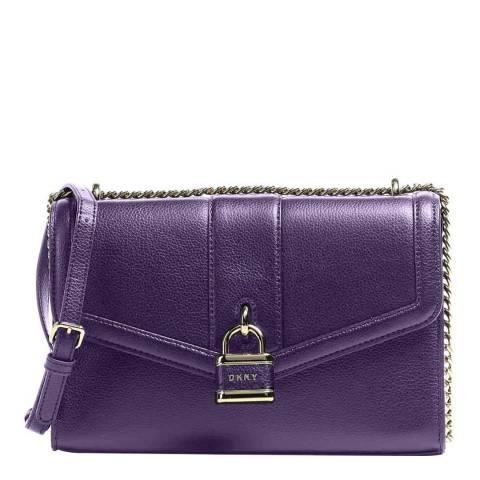 DKNY Eggplant Ella Large Shoulder Bag