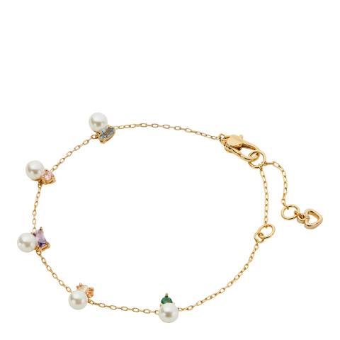 Kate Spade Gold Little Gem Line Bracelet