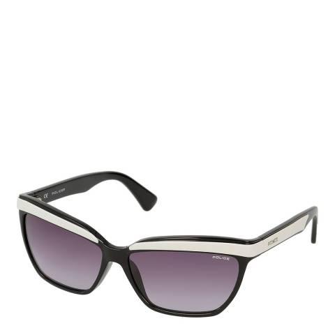 Police Cream Rectangle Sunglasses