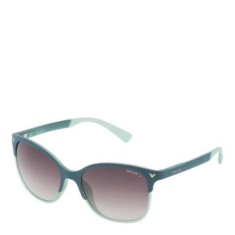 Police Petrol Green Game Sunglasses