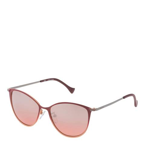 Police Matte Peach Butterfly Sunglasses
