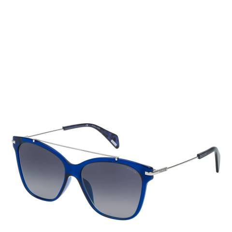 Police Transparent Blue Goldeneye Sunglasses
