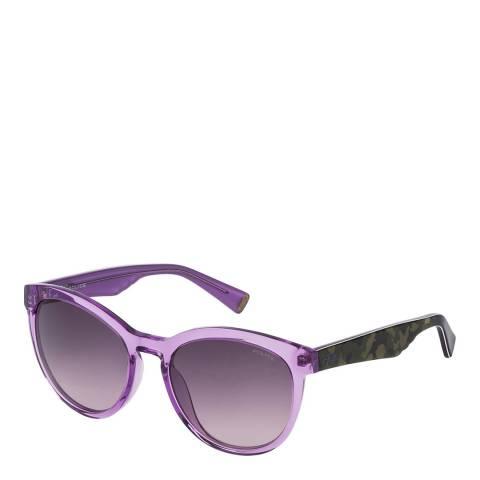 Police Transparent Lilac Savage 3 Sunglasses