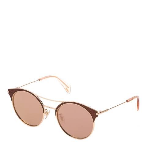 Police Red Gold Goldeneye Sunglasses