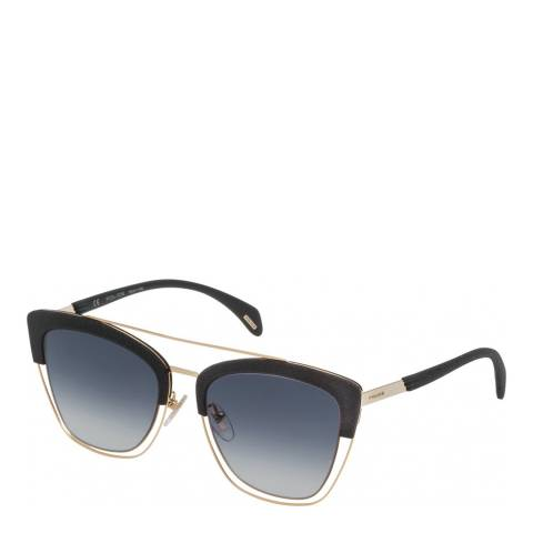 Police Shiny Rose Gold Sparkle 7 Sunglasses