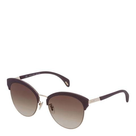 Police Red Gold Sparkle 7 Sunglasses