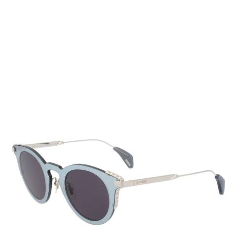 Police Shiny Palladium Fury 1 Sunglasses