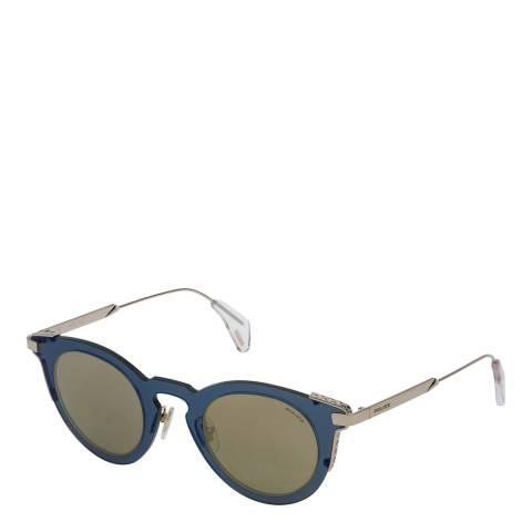 Police Grey Gold Fury 1 Sunglasses