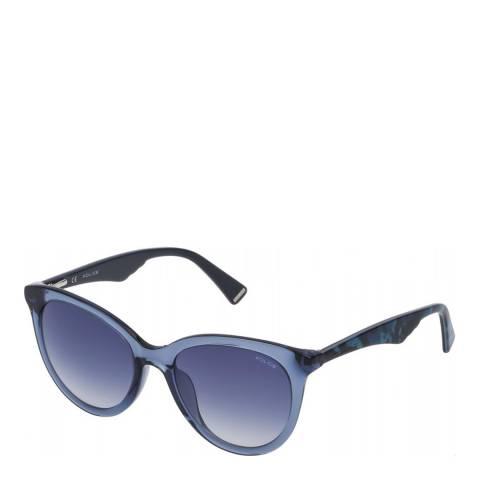 Police Transparent Blue Savage 10 Sunglasses