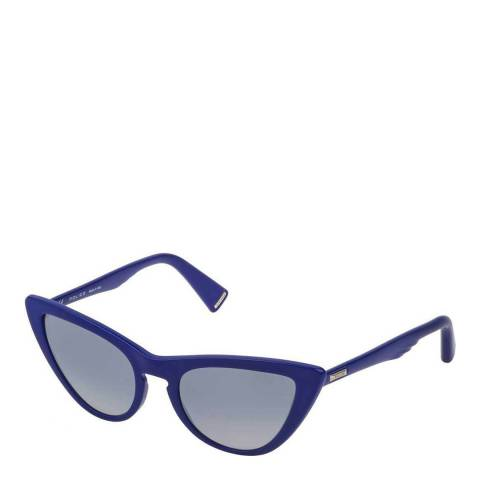 Police Full Blue Feather 3 Sunglasses