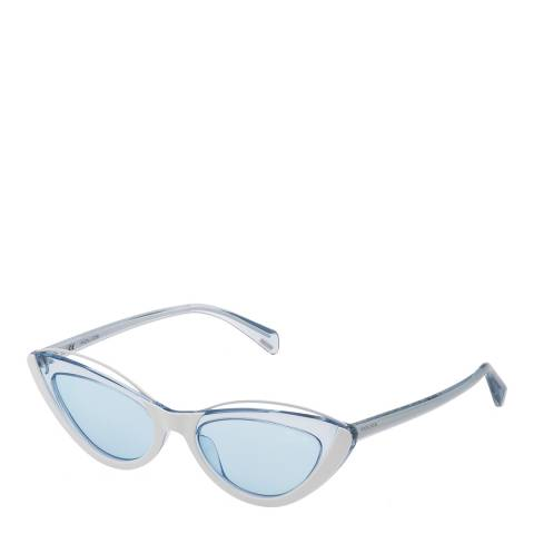 Police White Azure Mascara 1 Sunglasses