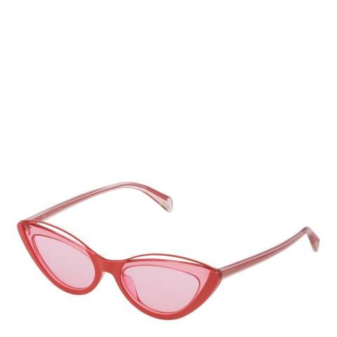 Police Orange Pink Mascara 1 Sunglasses