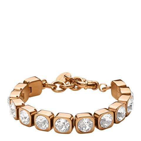 Dyrberg Kern Silver Bracelet with Swarovski Crystals