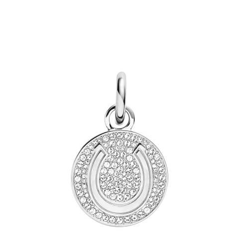 Dyrberg Kern Silver Necklace Pendant with Swarovski Crystals
