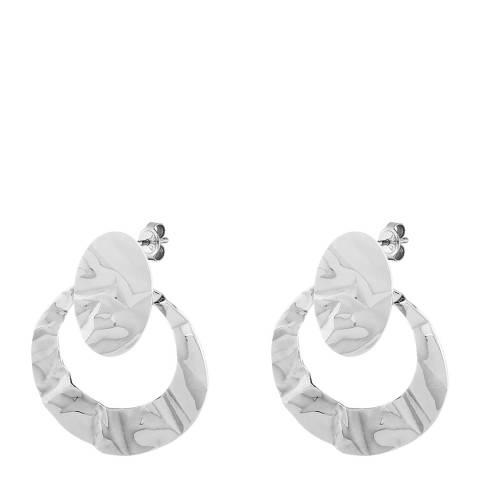 Dyrberg Kern Silver Chandelier Earrings