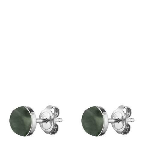 Dyrberg Kern Green Stud Earrings