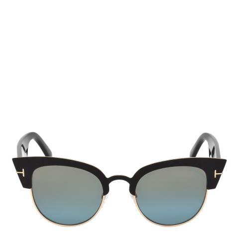 Tom Ford Women's Black/Crystal Tom Ford Sunglasses 51mm
