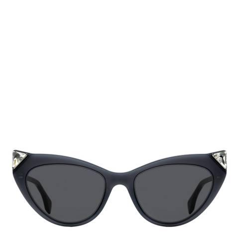 Fendi Women's Grey/Grey Fendi Sunglasses 52mm