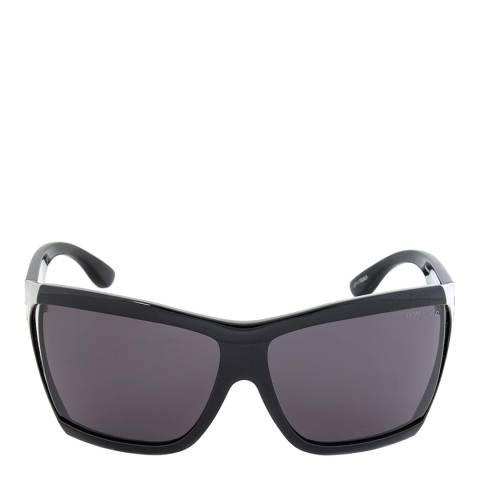 Tom Ford Women's Polished Black/Smoke Tom Ford Sunglasses 62mm