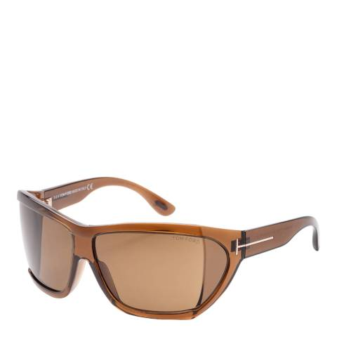 Tom Ford Women's Brown/Green Tom Ford Sunglasses 62mm