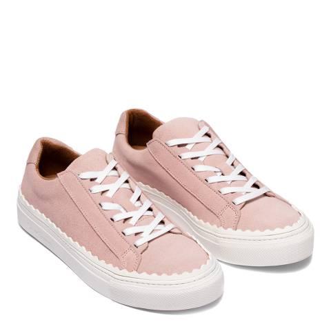 Oliver Sweeney Pink Ziva Suede Sneakers