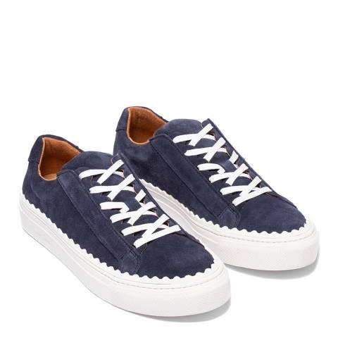 Oliver Sweeney Navy Ziva Suede Sneakers