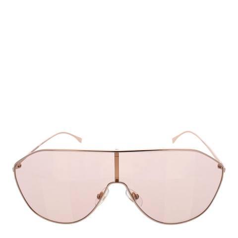 Fendi Women's Gold/Pink Fendi Sunglasses 99mm