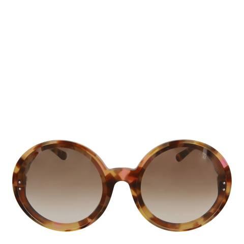 Bottega Veneta Women's Havana Bronze Bottega Veneta Sunglasses 61mm
