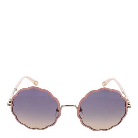 Chloe Women's Gold/Coral Chloe Sunglasses 49mm