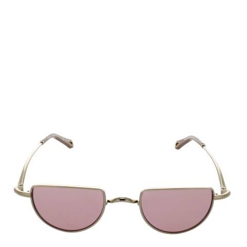 Chloe Women's Gold/Pink Chloe Sunglasses 45mm