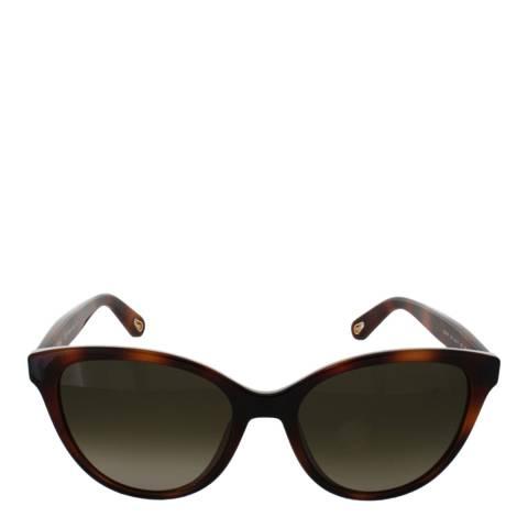 Chloe Women's Havana Chloe Sunglasses 54mm