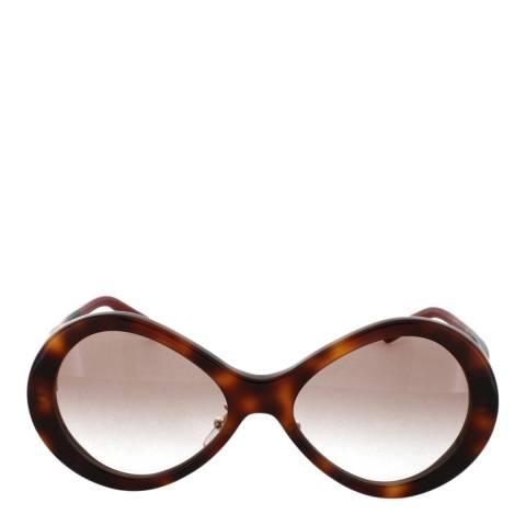 Chloe Women's Havana/Gradient Brown Chloe Sunglasses 55mm