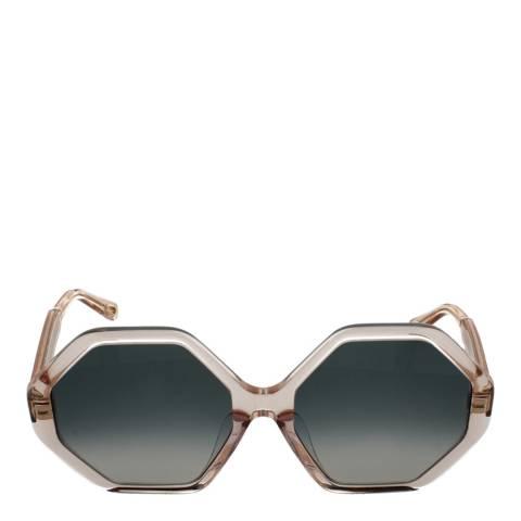 Chloe Women's Peach Chloe Sunglasses 57mm