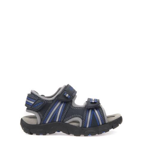 Geox Boy's Navy/Dark Royal Sandals