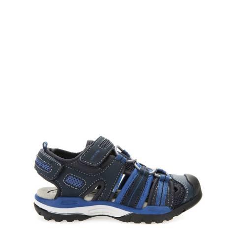 Geox Boy's Navy/Avio Borealis Sandals