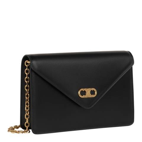 Celine Black Gold Chain Mini Bag