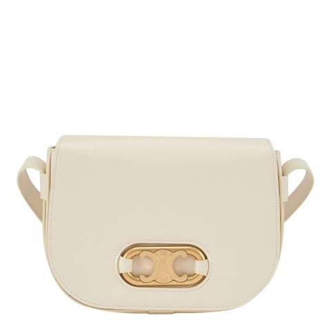 Celine Cream Medium Maillon Triomphe Bag