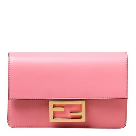 Fendi Pale Pink Mini Flat Baguette Bag