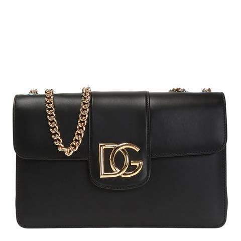 Dolce & Gabbana Black DG Millenials Handbag