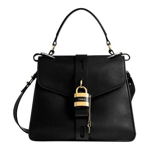 Chloe Black Medium Aby Top Handle Bag