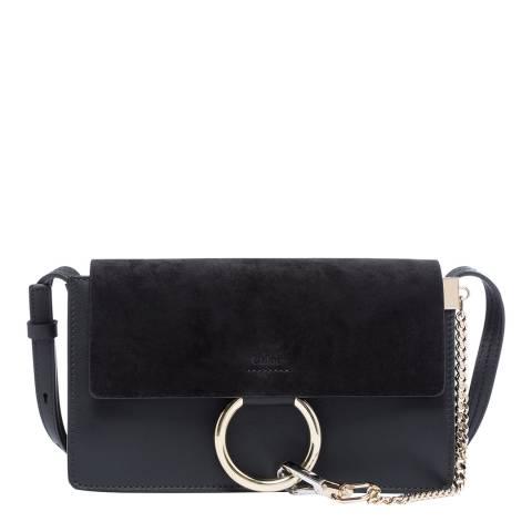 Chloe Black Small Faye Shoulder Bag