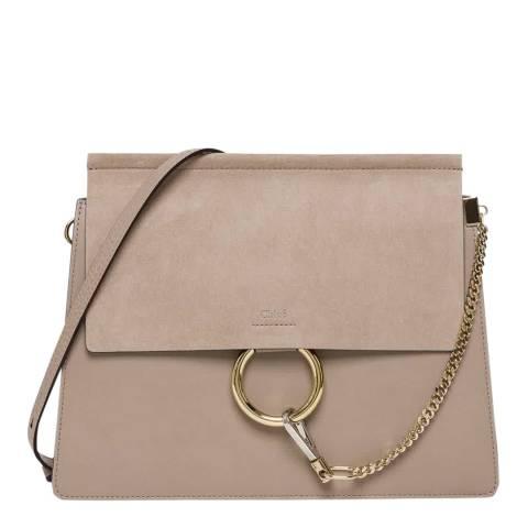 Chloe Grey Faye Shoulder Bag