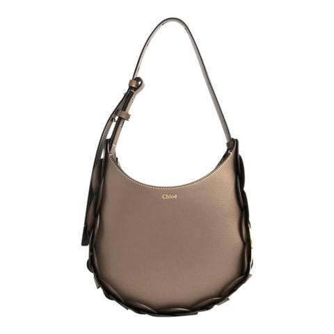 Chloe Grey Small Darryl Shoulder Bag
