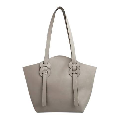Chloe Grey Medium Darryl Shoulder Bag